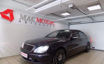 Mercedes-Benz S-klasse Черный